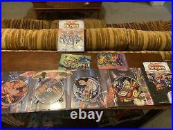 New Adventures Of He-Man DVD Lot Vol 1 & 2 Complete Series Rare OOP MOTU Cards