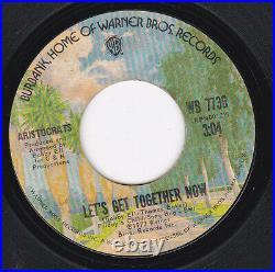 Northern Soul Aristocrats Let's Get Together Now Warner Brothers Original RARE