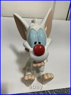 PINKY STATUE Pinky And The Brain Warner Brothers Bros Rare Animaniacs 14