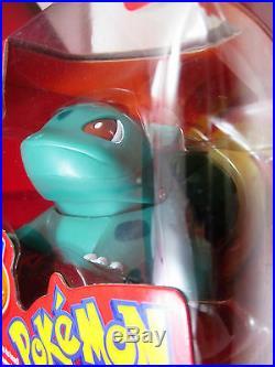 POKEMON BULBASAUR Figure Electronic Sounds Rams Head 2000 Hasbro Nintendo Rare