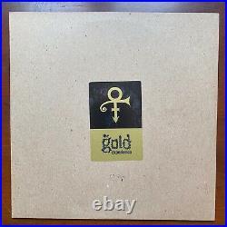 PRINCE The Gold Experience (1995) 2LP PROMO Gold Translucent Vinyl RARE