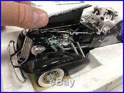 Pepe Le Pew 1935 Auburn 851 Boattail Speedster ERTL 118 Scale Warner Bros Rare