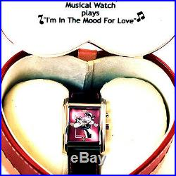 Pepe Le Pew & Penelope, Rare Musical Warner Bros NIB Limited Edition Watch! $349
