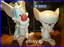 Pinky and The Brain Figurine Set of 2! 1997 Warner Bros 14 RARE