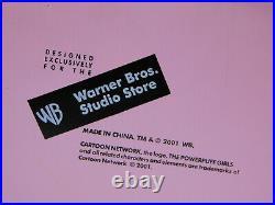PowerPuff Girls Bed Pillow Fight Warner Bros Studio Store Coin Bank Rare