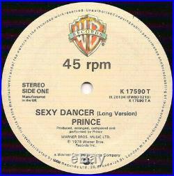 Prince Sexy Dancer / Bambi 12 inch vinyl Very Rare Original Release