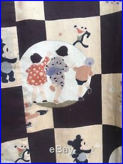 RARE 1930s KIMONO Betty Boop BOSKO Mickey FLIP THE FROG Oswald the Lucky Rabbit