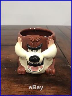 RARE 1989 TAZ Tasmanian/Tazmanian Devil Coffee Cup Mug Clark Griswold