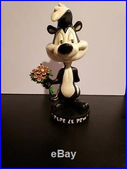 RARE 1993 Warner Bros. Looney Tunes Bobble Head complete set Yosemite Sam Bugs