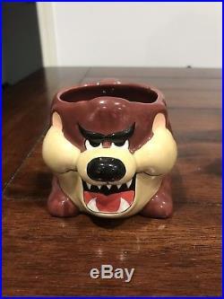RARE Applause 1989 TAZ Tasmanian/Tazmanian Devil Coffee Cup Mug Clark Griswold