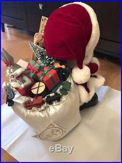RARE MINT! LE #156 16 House Of Hatten Marvin Martian Santa Christmas Statue