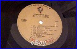 RARE MONO 1967 orig The Grateful Dead lp self titled debut album SHRINK Plays EX