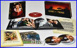 RARE New GONE WITH THE WIND 70TH ANNIVERSARY Blu Ray BOXED DVD Set, Factory SEAL