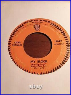 RARE! Northern Soul JOANIE SOMMERS Don`t Pity Me My Block US Warner 5629