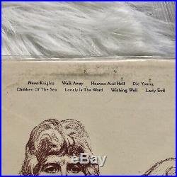 RARE ORIGINAL Black Sabbath Heaven and Hell Vinyl Record