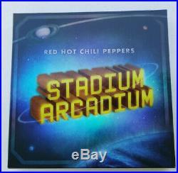 RARE Red Hot Chili Peppers Stadium Arcadium 2006 DELUXE ART 4LP RECORD BOX SET