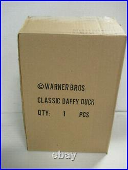 RARE Rutten Classic DAFFY DUCK 8 Statue Warner Bros. Switzerland Import NIB! ZQ
