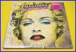 RARE SEALED MADONNA CELEBRATION ORIGINAL VINTAGE 4 LP RECORD ALBUM With HYPE