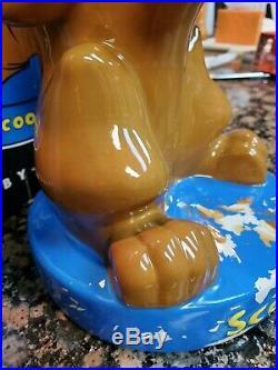 RARE Scooby Doo Bank Warner Bros. Studio store exclusive NIB freesp vtg. 1998