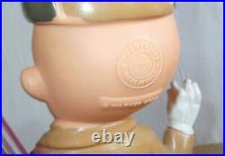 RARE Vintage squeak toy / pouet RUBBERTOYS Italy Warner Bros ELMER FUDD 60s