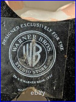 RARE WARNER BROS 1997 PINKY & THE BRAIN STATUE CARTOON 11 Inches PLEASE READ