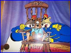 RARE WB SIGNED CHUCK JONES LIM ED Cel Bear for Punishment AP ONLY 50 MADE 28/50