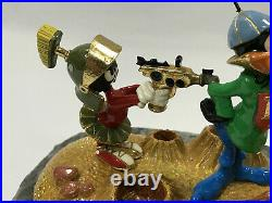 RARE Warner Bros. Ron Lee 1993 Duck Dodgers & Marvin The Martian LE 198/1000