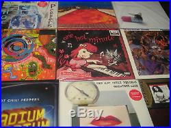 RED HOT CHILI PEPPERS COLLECTION 180 Gram UK PRESSED RARE LPS + OTHER RARE LP/CD