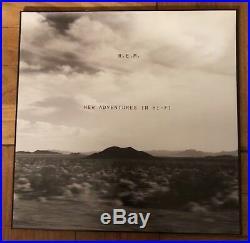 R. E. M. New Adventures In Hi Fi RARE Orig Warner Bros 1996 2xLP Gatefold EX
