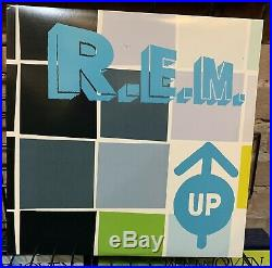 R. E. M. UP RARE Warner Brothers 9 47112-1 Vinyl LP VG++ 2-LP's with insert