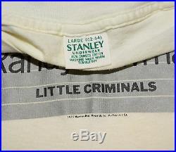 RaRe 1977 RANDY NEWMAN vtg concert tour t-shirt (M/L) 70s Warner Bros Records