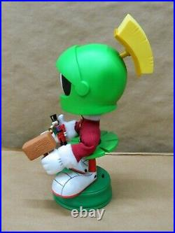 Rare 15 Animated Looney Tunes Marvin The Martian Christmas Figure Not moving