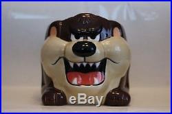 Rare 1989 Applause Taz Tasmanian Devil Cup Mug Griswold Christmas Vacation