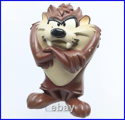Rare 1996 Looney Tunes Taz Tasmanian Devil 18 Figure Statue, 1996 Warner Bros Sto