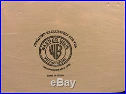 Rare 1996 Warner Brothers Studio Store Wile E. Coyote Road Runner Bobble Heads