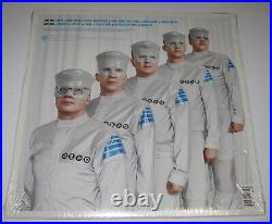 Rare DEVO SOMETHING FOR EVERYBODY BLUE VINYL ALBUM LP + BONUS ALBUM CD 2010