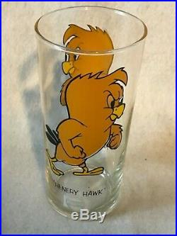Rare Federal 15 Oz LUN 1973 Henery Hawk Pepsi Glass Warner Bros MY LAST