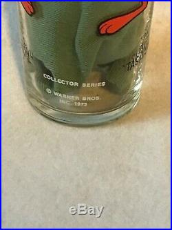 Rare Federal 15 Oz LUN 1973 Tasmanian Devil Taz Pepsi Glass Warner Bros