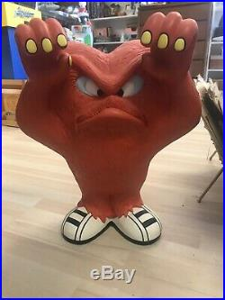 Rare Gossamer Looney Tunes Statue 20 1/2 Tall! Excellent Condition