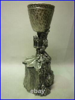 Rare Harry Potter Heavy 7 Pewter Goblet of Fire Replica Warner Bros JAPAN F/S