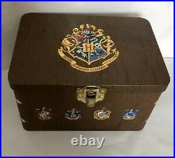 Rare Harry Potter LE Watch 324/1000 Quidditch Gift Tin Mini Game Balls COA