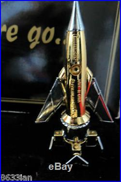Rare Limited Gold Edition All 5 Thunderbirds Fab1 1 2 3 4. 4 Large Tracy Island