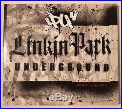 Rare Linkin Park Underground 3.0 4.0 Fan Club Projekt Revolution CD Sealed