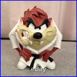Rare! Looney Tunes Tasmanian Devil Karate Taz Demons & Merveilles Fig Statue
