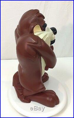 Rare Looney Tunes Taz Tasmanian Devil 18 Figure Statue 1996 Warner Bros Store