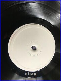 Rare Prince Purple Rain 1984 Vinyl Prom White Label Test Pressing never Played