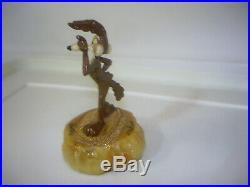 Rare Ron Lee Figurine. 1996 Wile E Coyote Looney Tunes LT540. # 272 of 1500