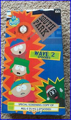 Rare South Park Promotional Mr Hankey Box Set promo Video & Plush Comedy Central