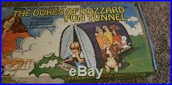 Rare Vintage 1981 DUKES OF HAZZARD Fun Tunnel Tent