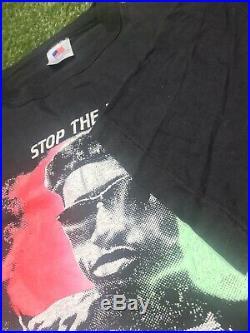 Rare Vintage 90s New Jack City Warner Bros Promo Movie Rap Hip Hop Tee T-Shirt